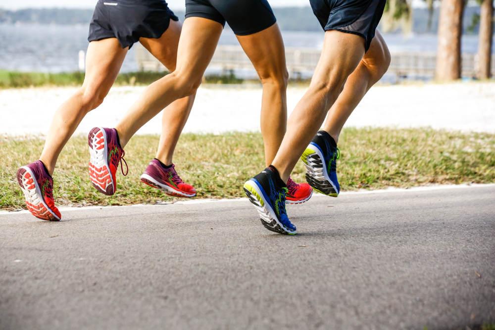 Sepatu Lari Modis di 'Jakarta Marathon 2019'
