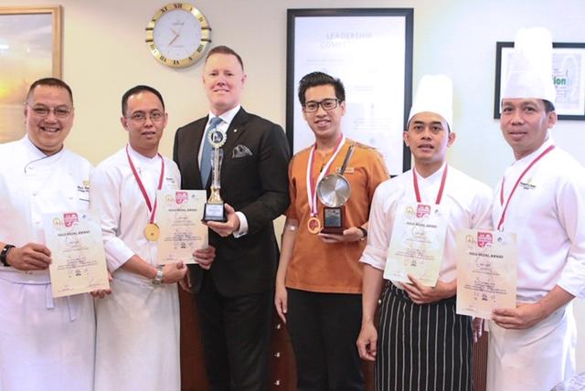 Shangri-La Hotel Raih Emas di Kompetisi Lacuisine 2018
