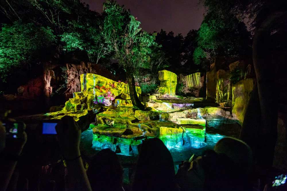 Singapore Zoo Hadirkan Atraksi Unik 'Rainforest Lumina'