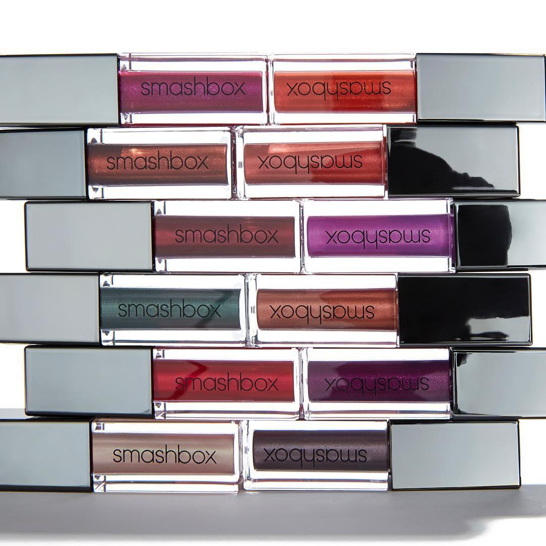 Smashbox Hadirkan Lipstik Always On Warna Metalik