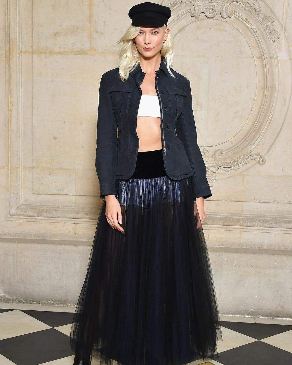 Spotted: Karlie Kloss Mengenakan Dior