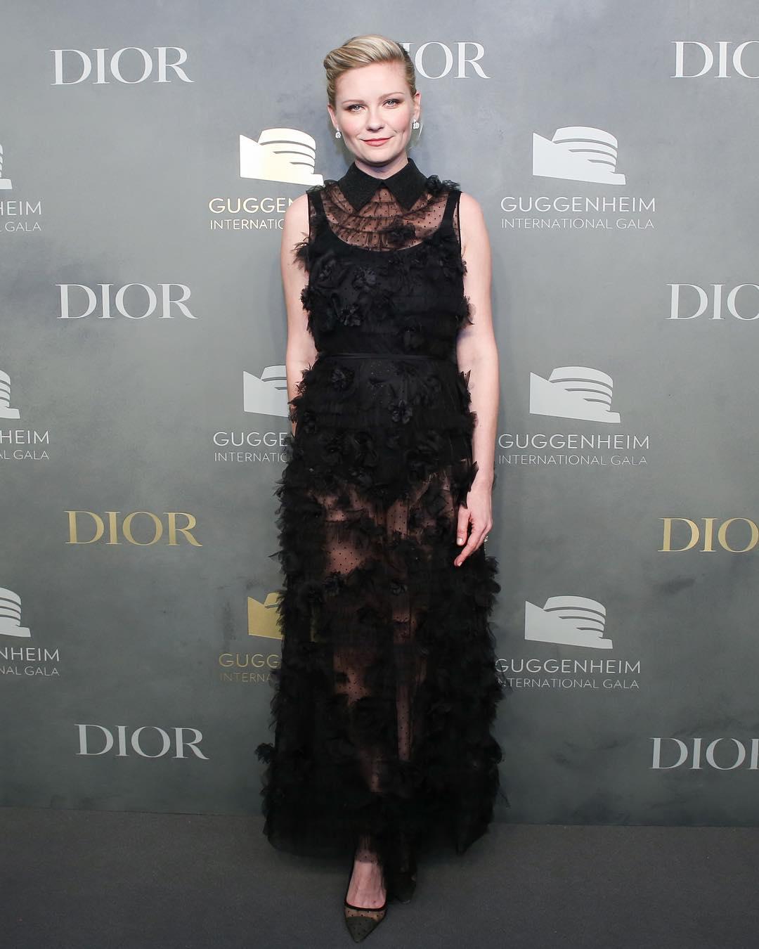 Spotted: Kirsten Dunst Mengenakan Dior