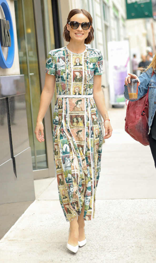 Spotted: Olivia Wilde Mengenakan Burberry