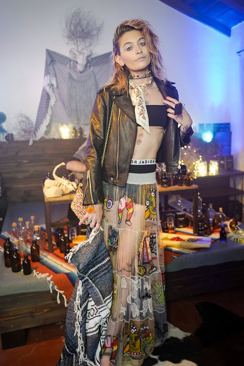Spotted: Paris Jackson Mengenakan Dior