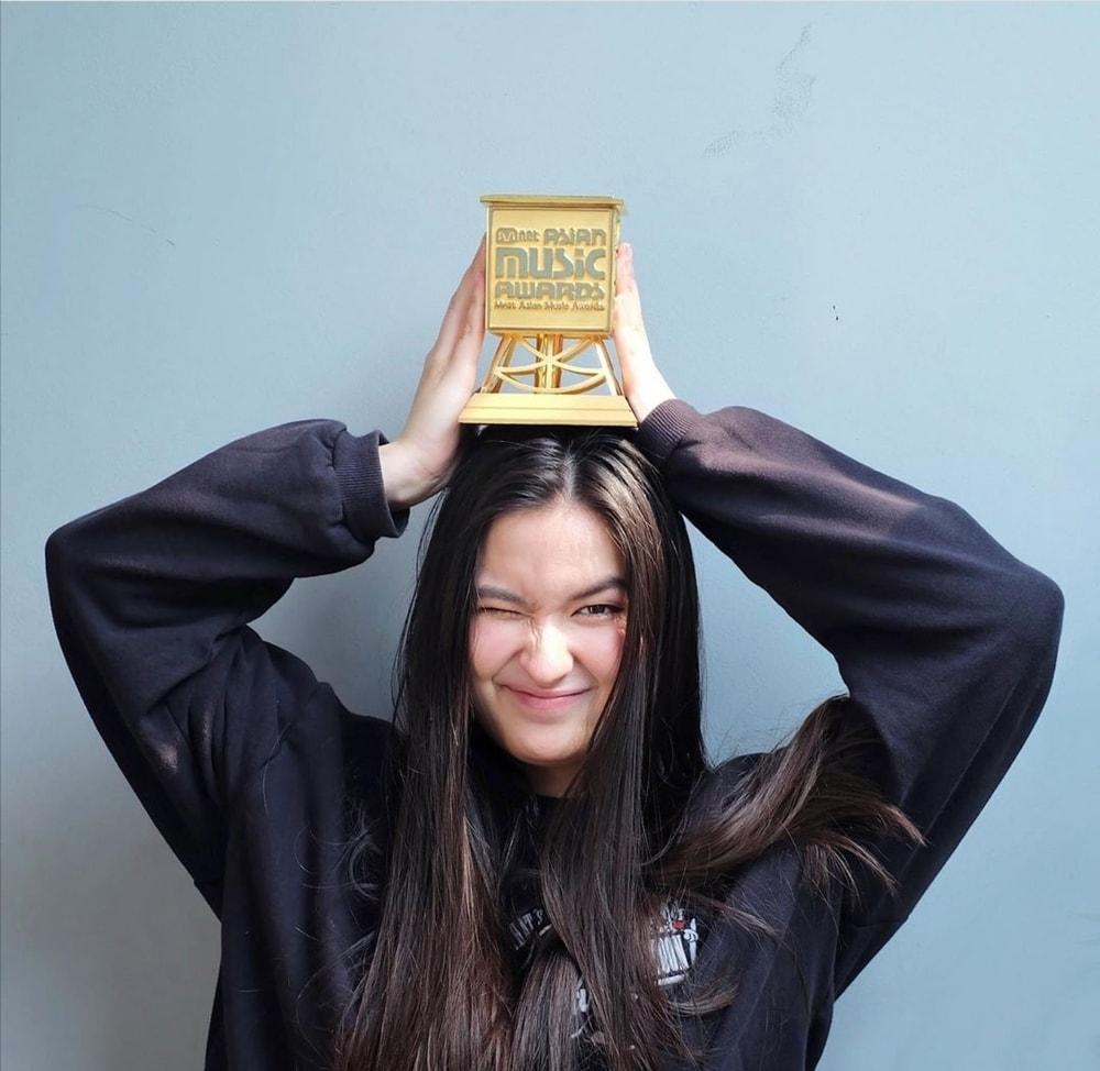 Stephanie Poetri Raih 'Best New Asian Artist' MAMA 2019