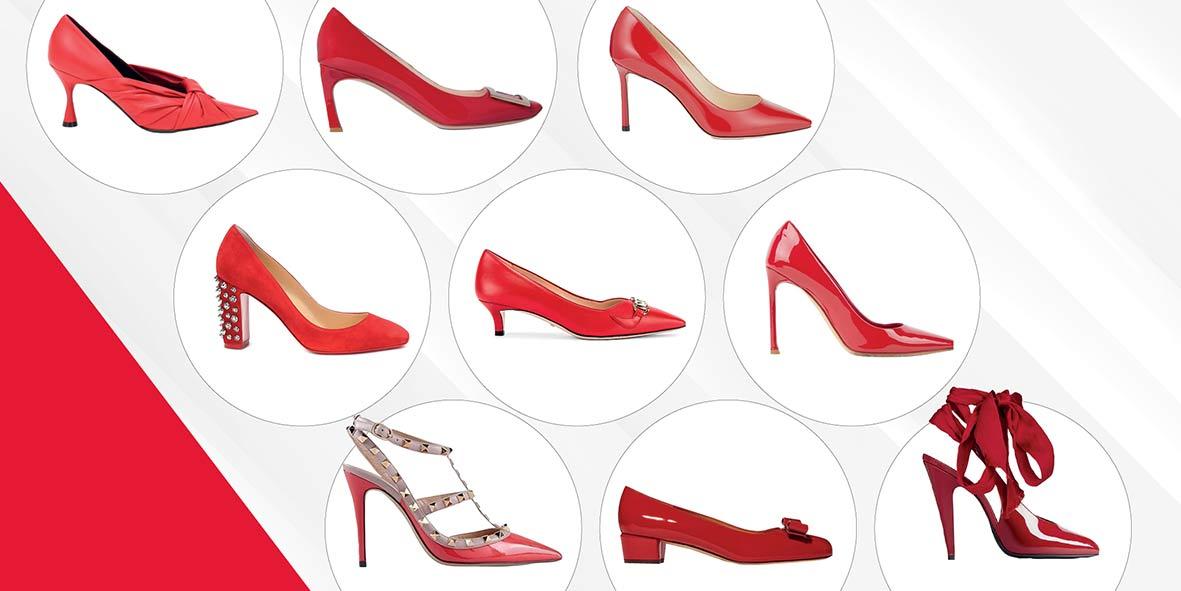 Wajib Punya: Sepatu Pump Merah Untuk Natal Dan Tahun Baru