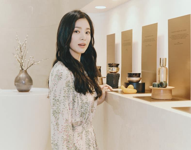 Tips Wajah Glowing a la Song Hye-Kyo