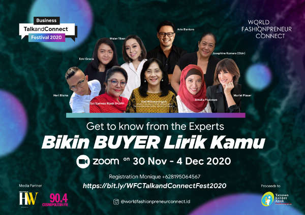 Talk and Connect Festival 2020, Bikin Buyar Lirik Kamu