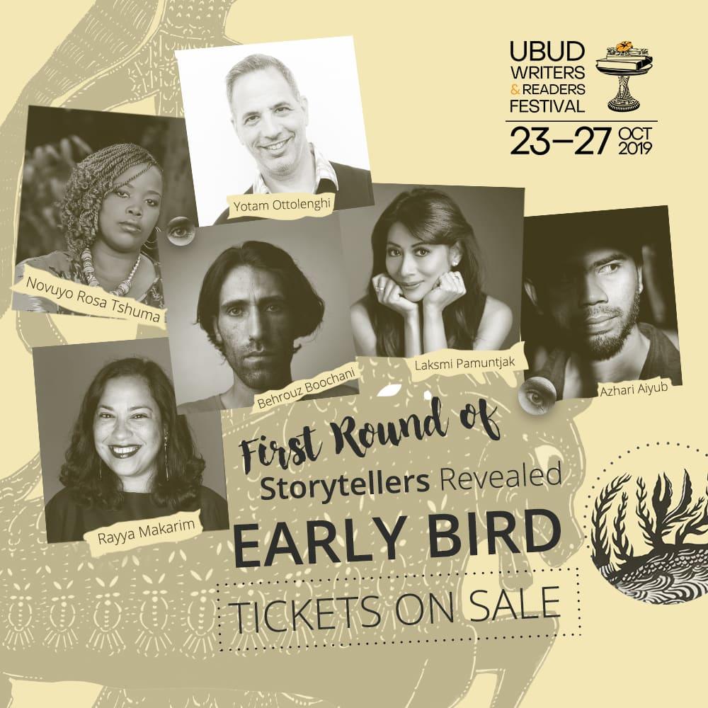 UWRF 2019: Dari Lala Bohang hingga Laksmi Pamuntjak