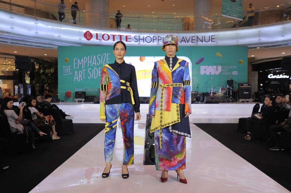 Unjuk Kreasi Desainer Muda di 'Fashion Art Vibes #03'