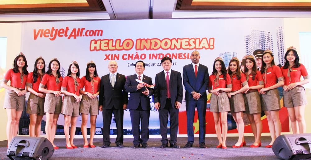 Vietjet Air Persiapkan Rute Jakarta - Ho Chi Minh City