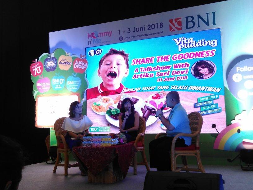 Vita Pudding, Jajanan Bergizi untuk Anak & Orang Dewasa