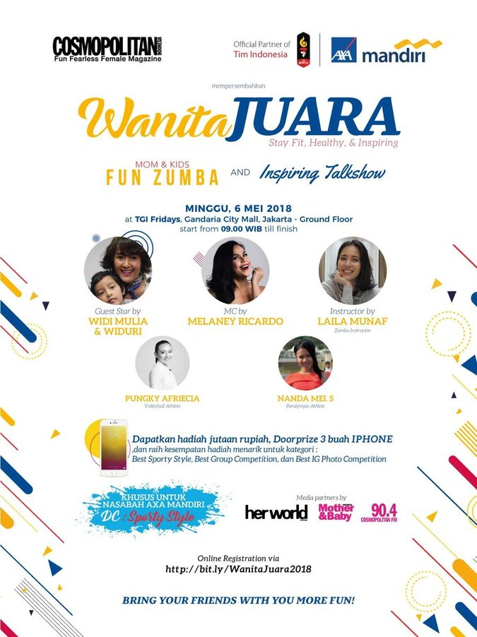 WANITA JUARA – Stay Fit, Healthy and Inspiring