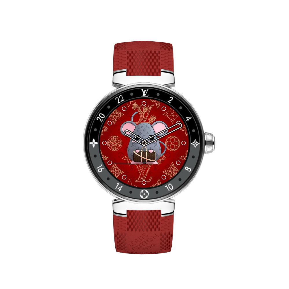 Wajah Jam Tangan Spesial Louis Vuitton Untuk Imlek