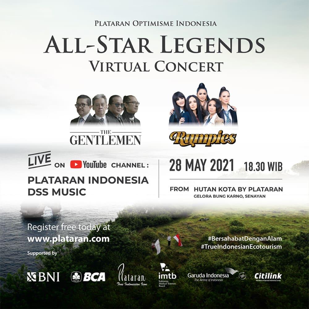 Konser Virtual Untuk Kebangkitan Ekowisata Indonesia