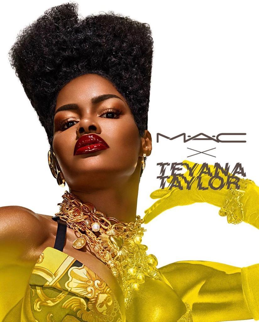 Teyana Taylor Jadi Wajah MAC Cosmetics Terbaru