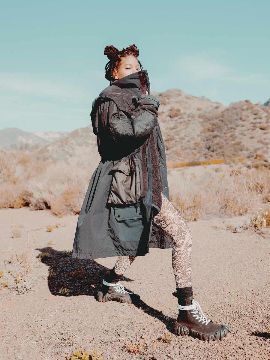 Gaya Seru Willow Smith Di Kampanye Iklan Onitsuka Tiger