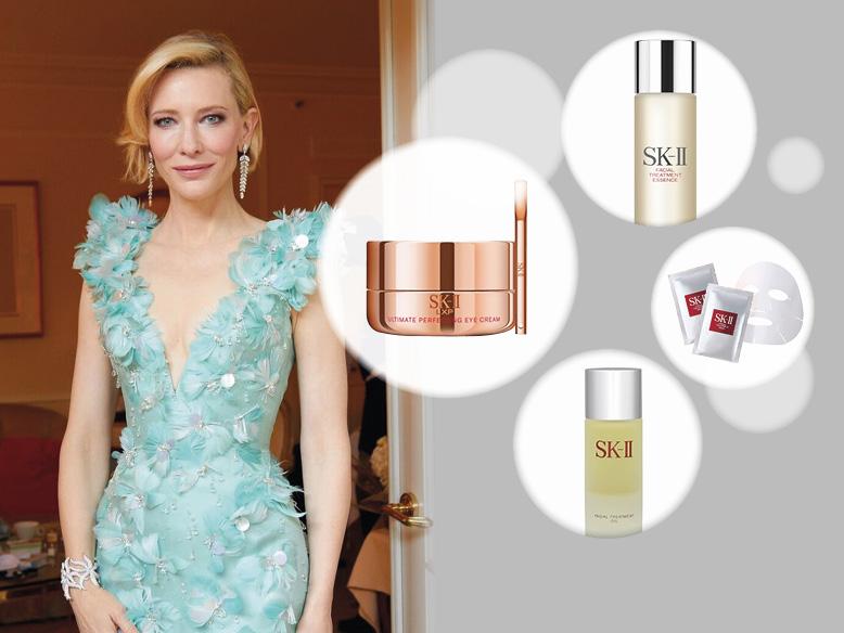Rahasia Kulit Sebening Kristal Cate Blanchett