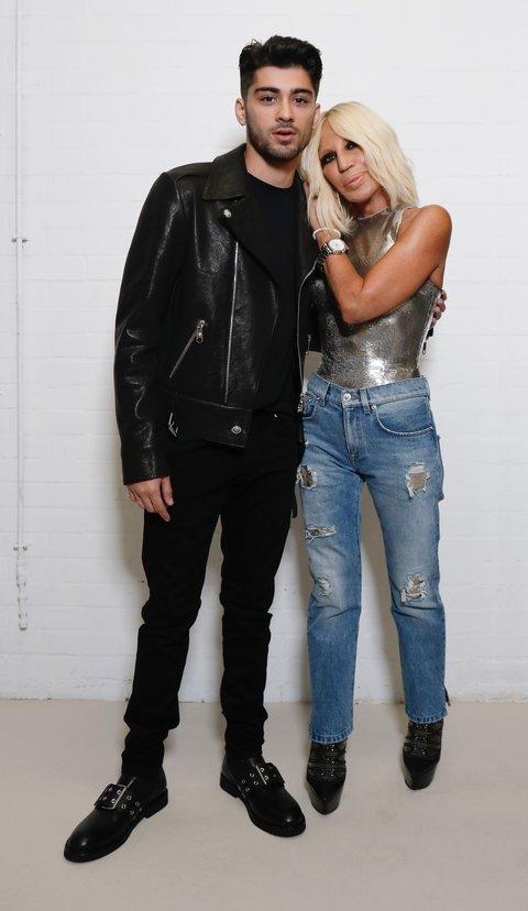 Kolaborasi Zayn Malik dan Versus Versace