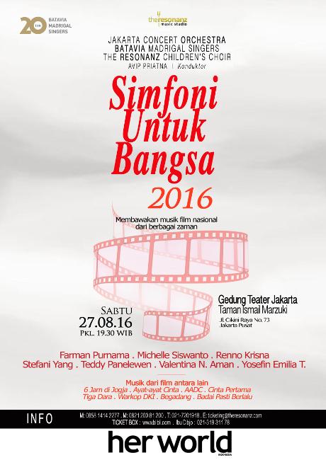 20th Batavia Madrigal Singers:Simfoni untuk Bangsa 2016