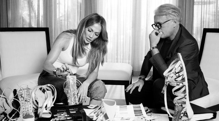 Kolaborasi Jennifer Lopez dan Giuseppe Zanotti