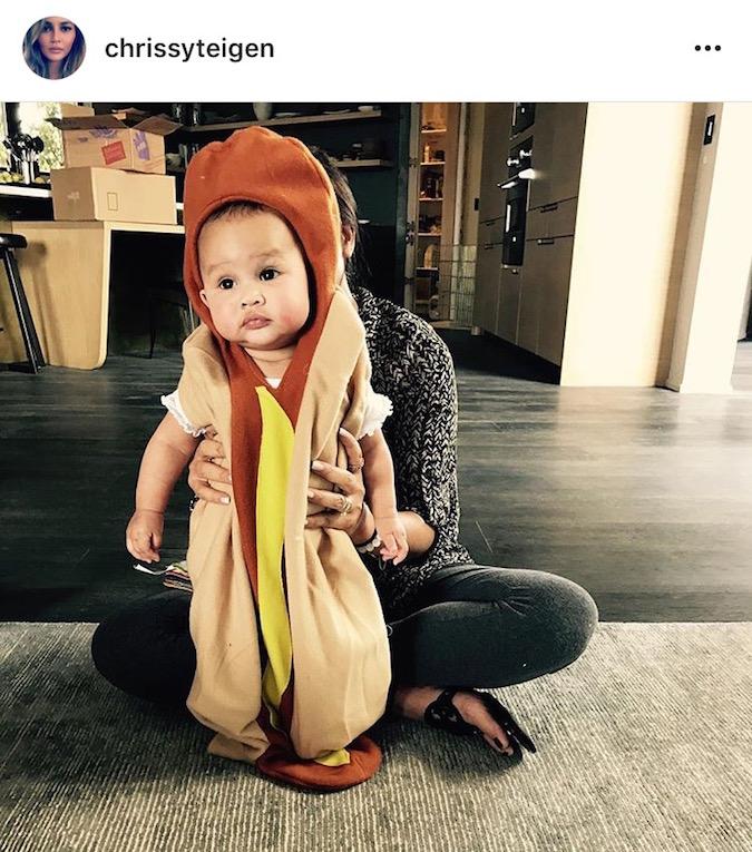 Foto Anak Para Seleb dengan Kostum Halloween