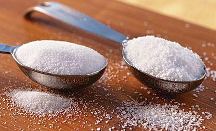 Kadar Aman Gula dan Garam Dalam Tubuh
