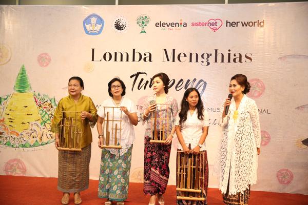 Cintai Budaya Indonesia Lewat Nasi Tumpeng