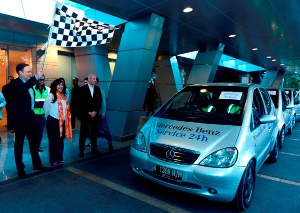 Mercedes-Benz Indonesia Selenggarakan Program Lebaran Rescue