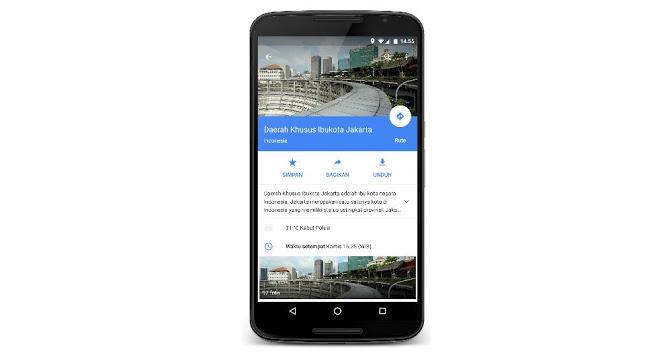 Nyamannya Fitur Baru dari Google Maps