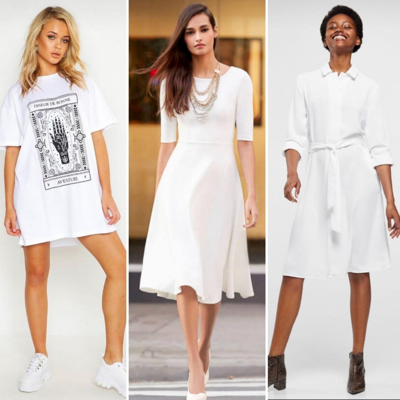 13 Tips Padupadan Busana Serba Putih Untuk Tampil Stylish