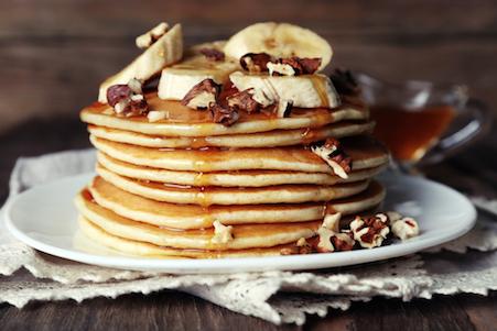 Cara Membuat Pancake Mudah Dengan 2 Bahan