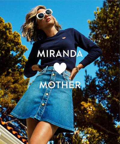 Miranda Kerr Berkolaborasi Dengan Mother Denim