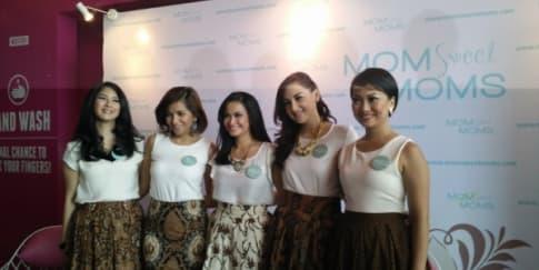 Peluncuran MomSweetMoms, Tempat Berbagi Ibu Selebriti