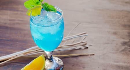 Cara Membuat Koktil Hawaiian Blue