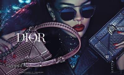 Penampilan Memukau Rihanna di Kampanye Dior