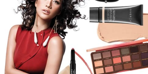 Make Up Bunga Citra Lestari di Cover her world