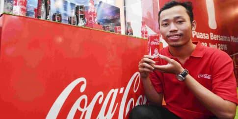 Gilang Bogy, Desainer Kaleng Coca-Cola