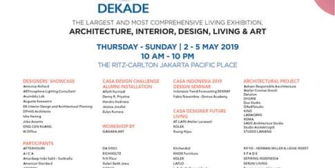 1 Dekade Casa Indonesia 2019