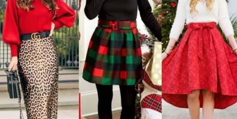10 Padu Padan Busana Untuk Tampil Memukau di Hari Natal