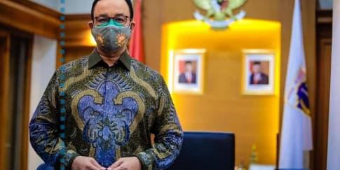 Gubernur DKI Jakarta Anies Baswedan Positif Terkena Covid-19