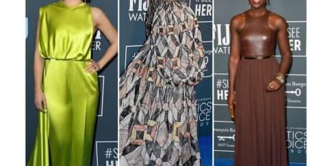 15 Busana Yang Memukau Di Critics' Choice Awards 2020