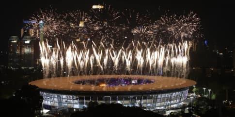17 Momen Berkesan di Upacara Pembukaan Asian Games 2018