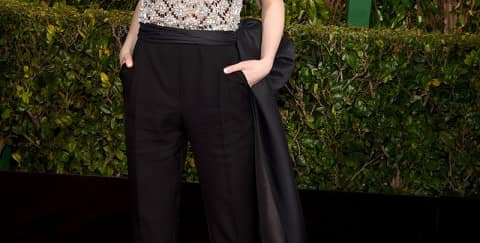 We love: Emma Stone Red Carpet Golden Globes 2015
