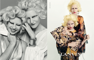 Kampanye Terbaru Lanvin Tunjukkan Keluarga Identik