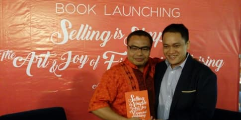 Peluncuran Buku Selling is Simple karya Alvin Soedarjo