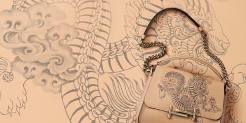 Kolaborasi Tod's dan Seniman Tato Ternama Saira Hunjan