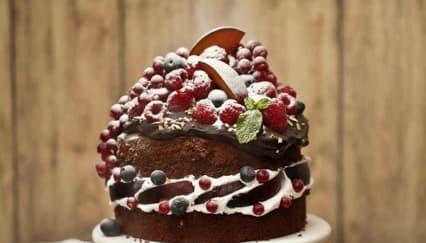 Sajikan Kue Coklat Hazelnut Untuk Natal Ini