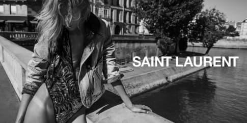 Kampanye Iklan Pertama Saint Laurent