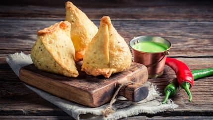 Resep Samosa Makanan Sehat Vegetarian Cepat Saji India